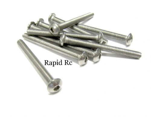 M4x40mm Stainless Steel Socket Button head Bolt